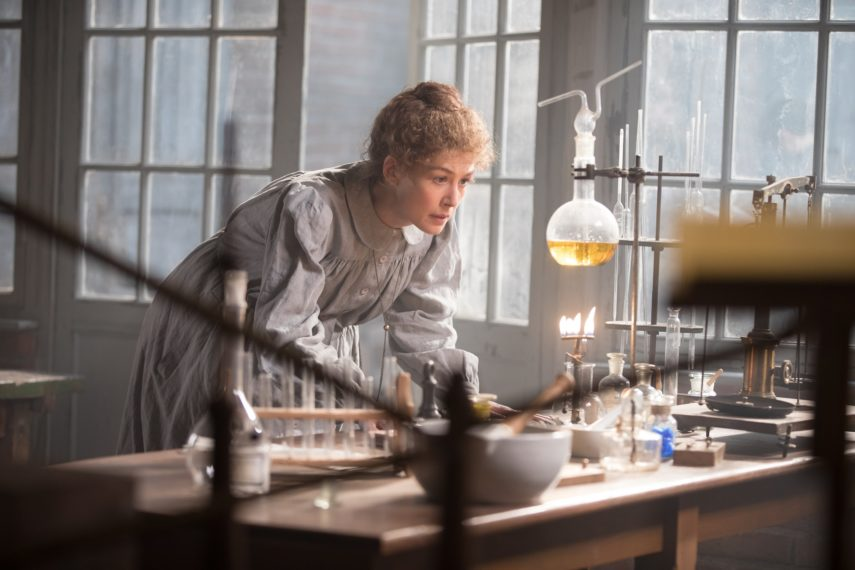 Radioactive Marie Curie Rosamund Pike