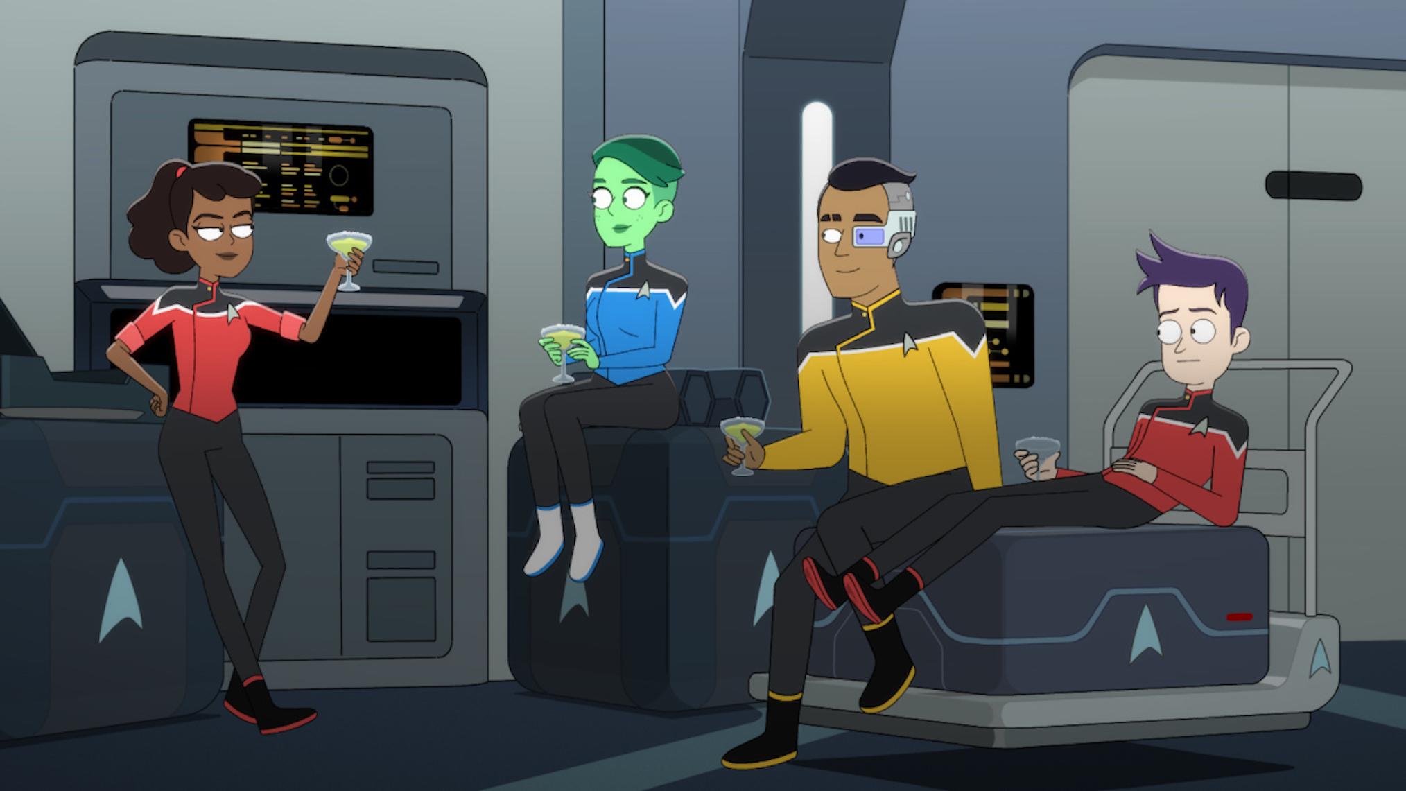 Star Trek Lower Decks Premiere Date CBS All Access
