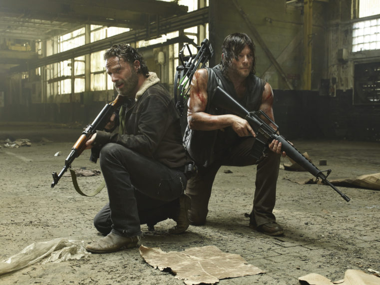 The Walking Dead Andrew Lincoln Norman Reedus