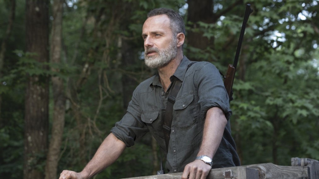 Andrew Lincoln The Walking Dead Rick Grimes Movie Update