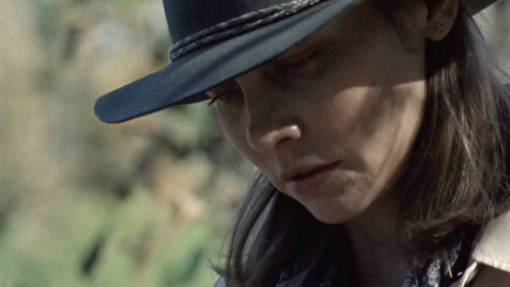 Lauren Cohan The Walking Dead Season 10 Finale Return Maggie