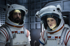 Hilary Swank Takes Us Inside the Space Scenes of Netflix's 'Away'