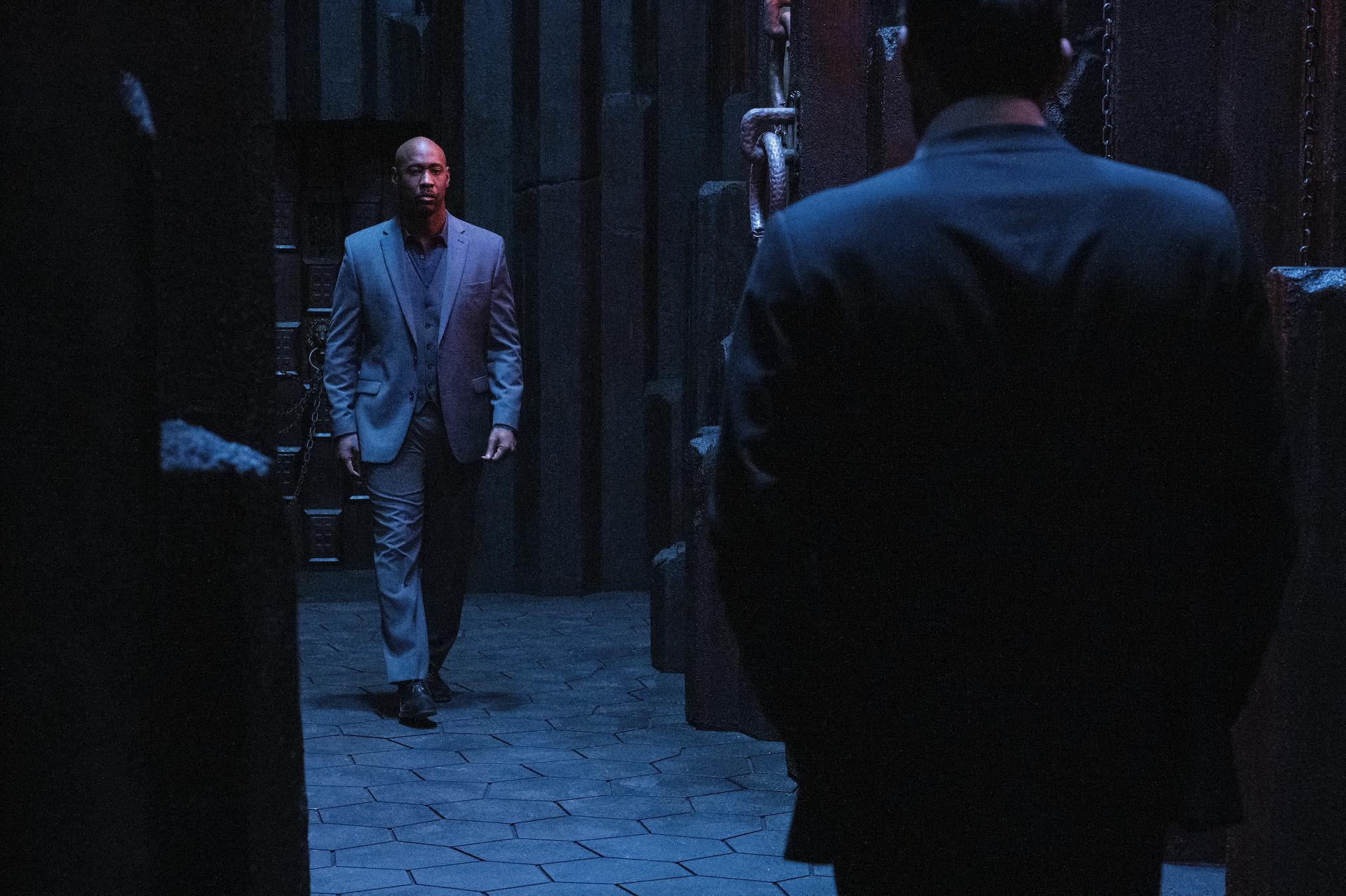 DB Woodside Lucifer Season 5 Episode 2 Amenadiel
