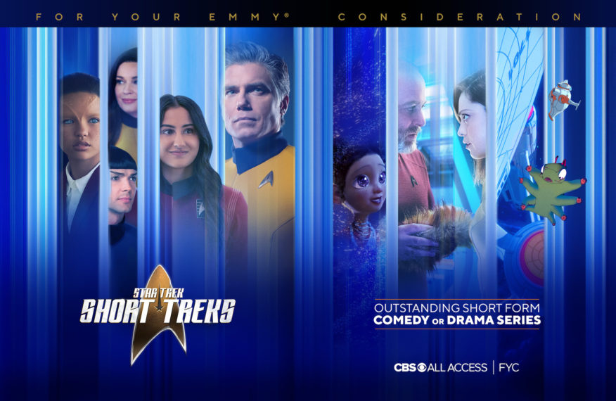 Star Trek Short Treks Emmy Nominated FYC