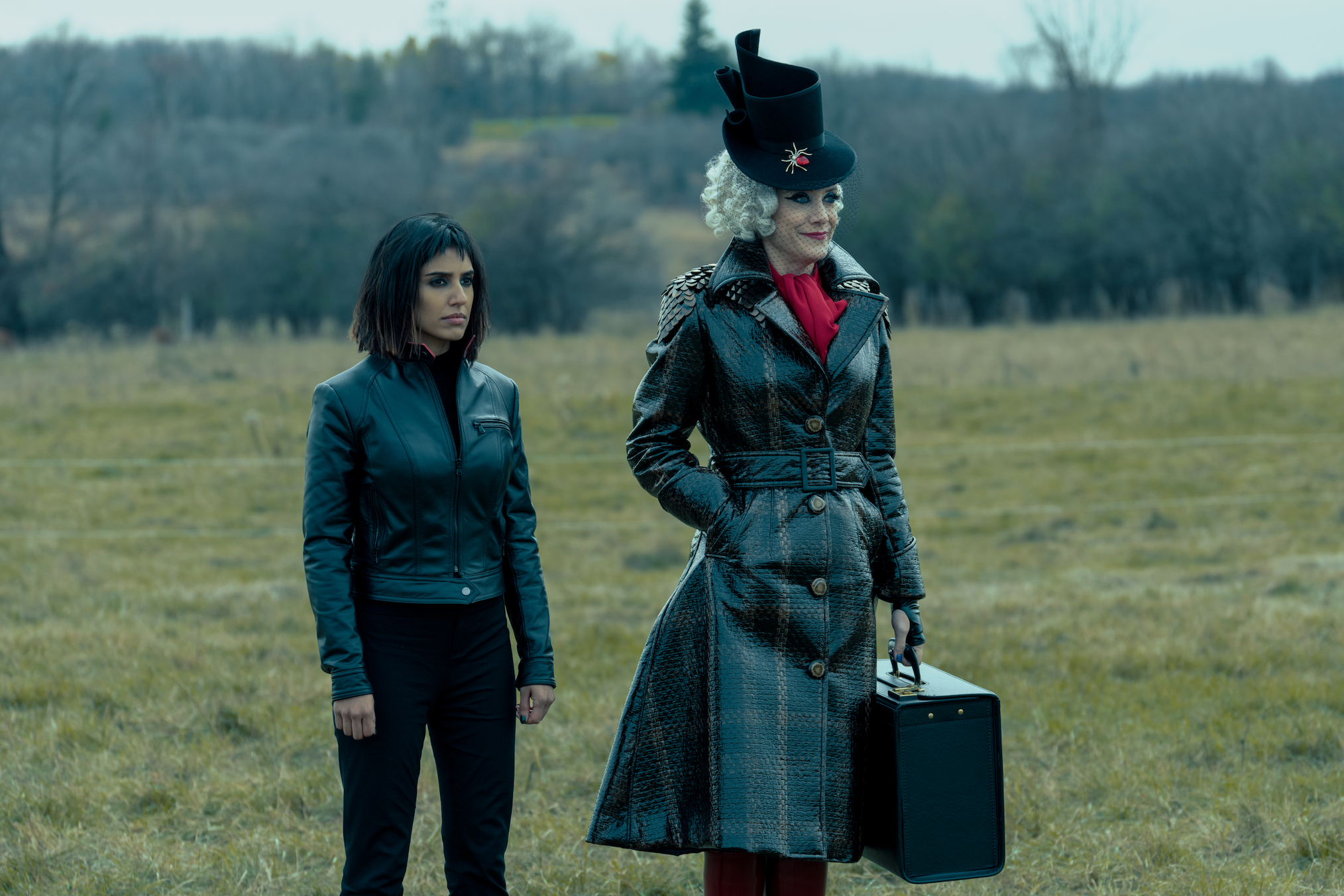 Ritu Arya Kate Walsh The Umbrella Academy Season 2 Finale Lila Handler
