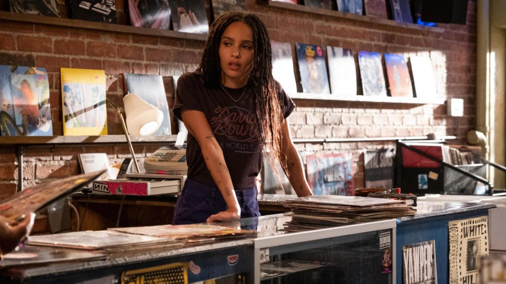 Zoe Kravitz Reacts High Fidelity Cancellation