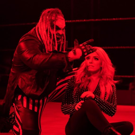 Alexa Bliss Meets The Fiend