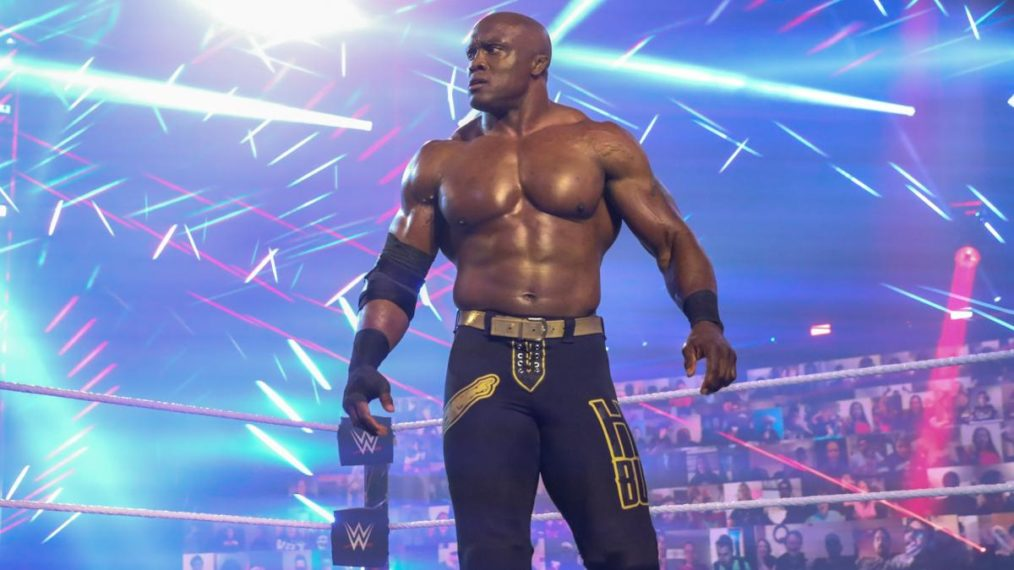 Bobby Lashley on Raw