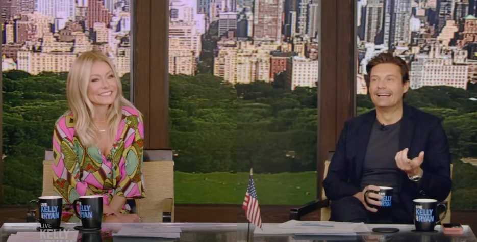 Live with Kelly and Ryan, Ryan Seacrest, Kelly Ripa, 2020