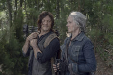 'The Walking Dead': Norman Reedus & Melissa McBride Talk Mending the Rift on Season 10C (VIDEO)