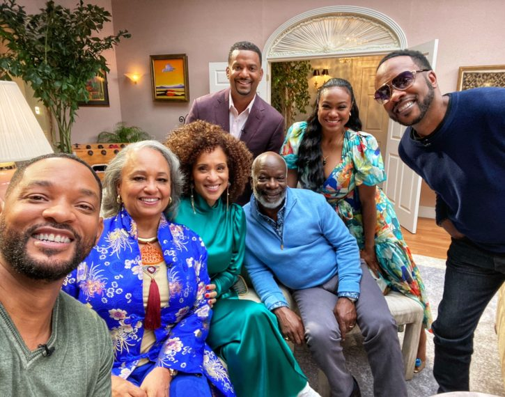 Fresh Prince of Bel Air Cast Taping Reunion Special