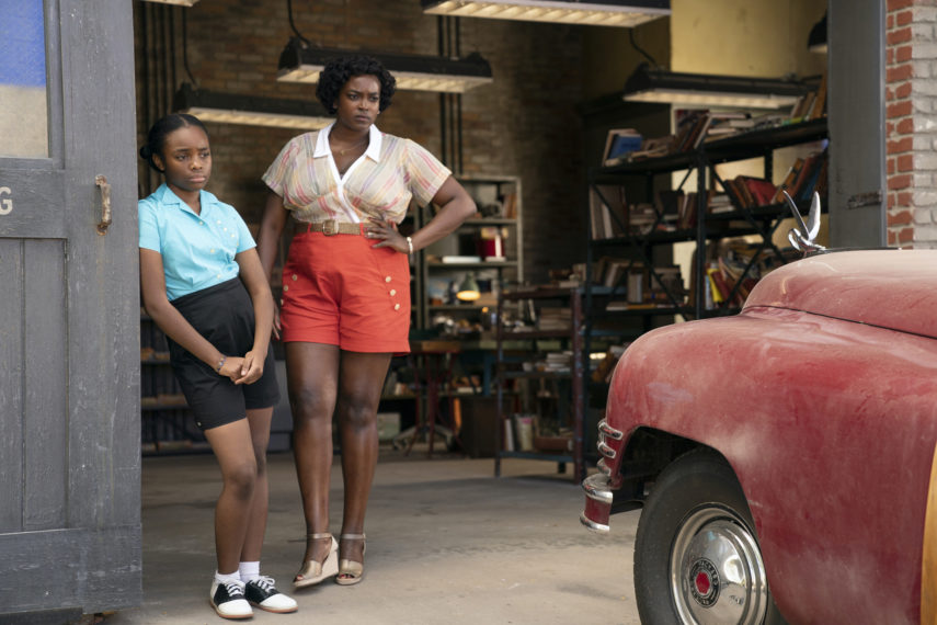 Jade Harris and Wunmi Mosaku in Lovecraft Country Episode 7