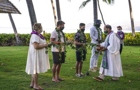 Magnum PI Cast Blessed Season 3 Production Hawaii