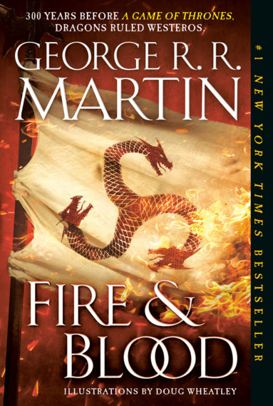 George RR Martin Fire & Blood Book