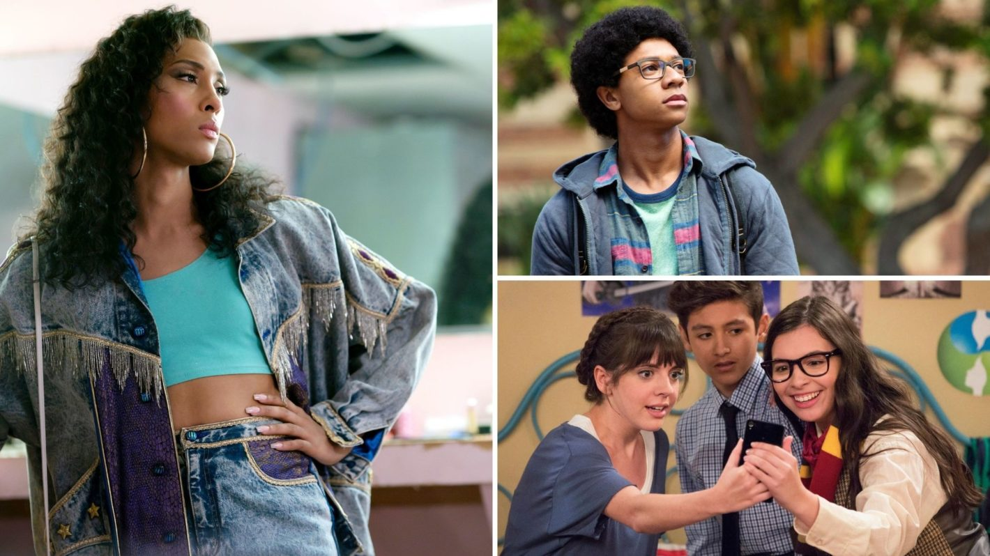 Mj Rodriguez Pose Isabella Gomez One Day at a Time DeRon Horton Dear White People