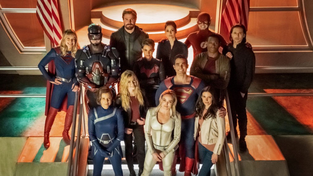 Arrowverse Crisis on Infinite Earths Crossover