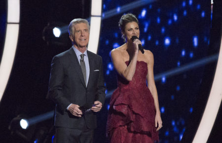 Tom Bergeron Erin Andrews Dancing With the Stars