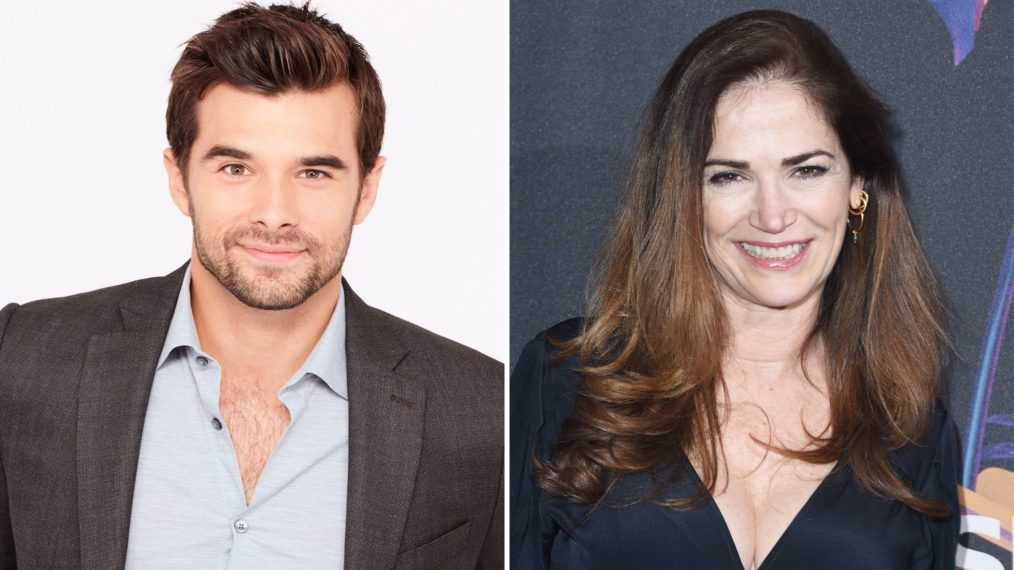 Josh Swickard Kim Delaney General Hospital
