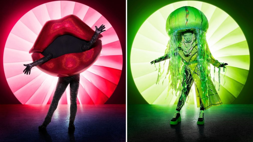 The Masked Singer Season 4 Costumes Lips Jellyfish