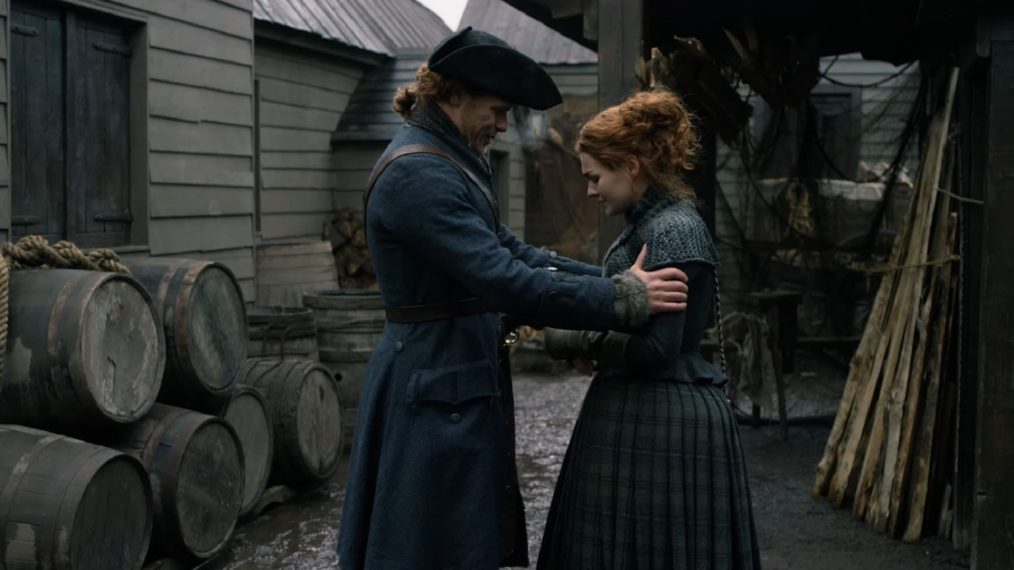 Outlander Season 4 Sam Heughan Sophie Skelton