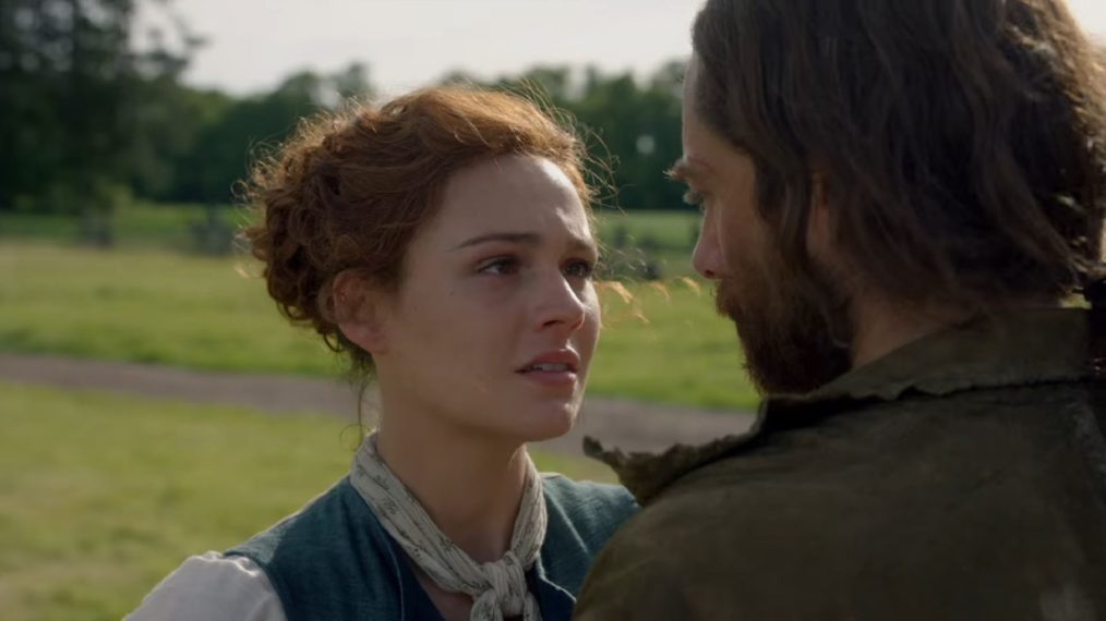 Outlander Season 4 Sophie Skelton Richard Rankin