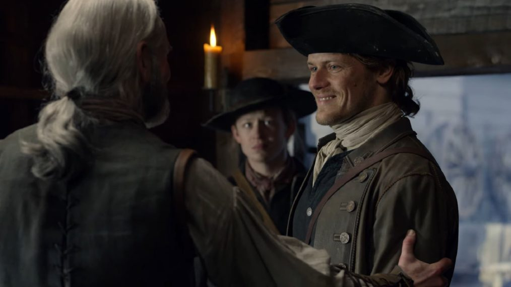 outlander season 4 sam heughan john bell duncan lacroix