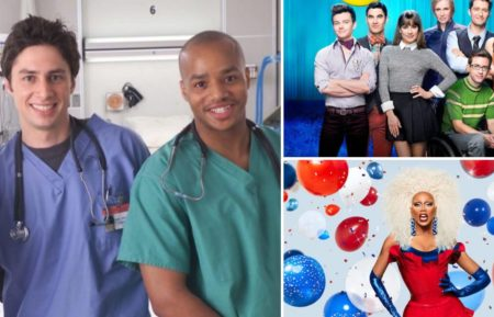 Scrubs Glee RuPaul's Drag Race