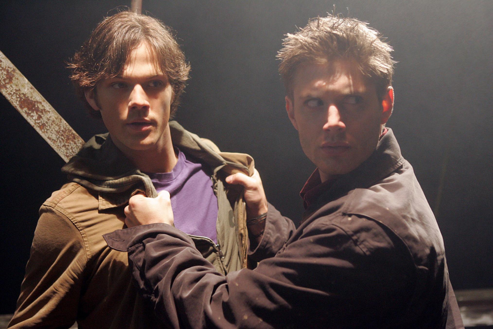 Jared Padalecki Jensen Ackles Supernatural Pilot Sam Dean Winchester