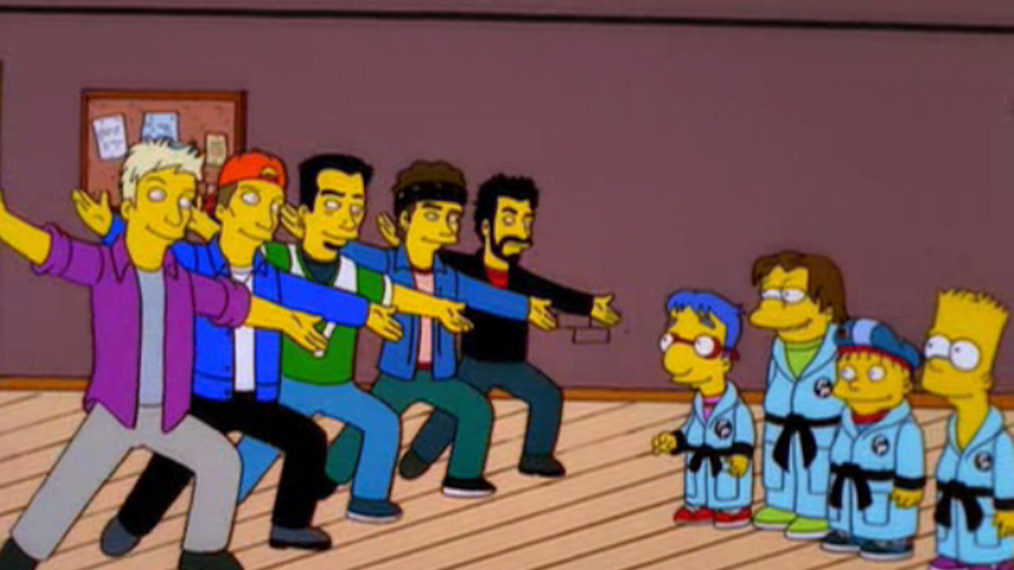 The Simpsons, S12E14, New Kids on the Blecch