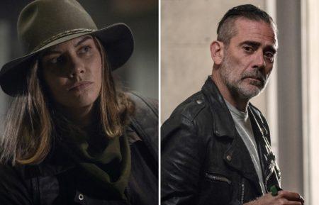 Lauren Cohan Jeffrey Dean Morgan Walking Dead Maggie Negan