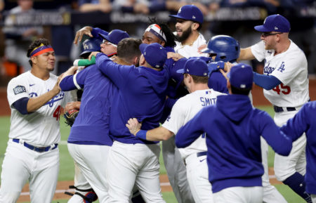World Series 2020 Game 6 Dodgers Win Celebration