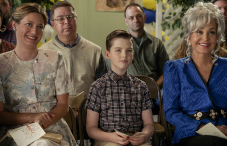 Young Sheldon, Iain Armitage, Zoey Perry, Annie Potts