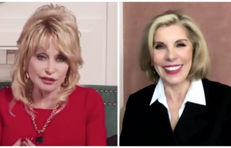 Christmas on the Square, Dolly Parton, Christine Baranski