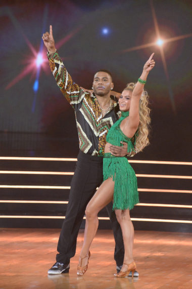 Nelly and Dani on Dancing With the Stars