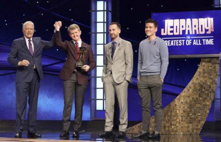 Alex Trebek Ken Jennings Jeopardy