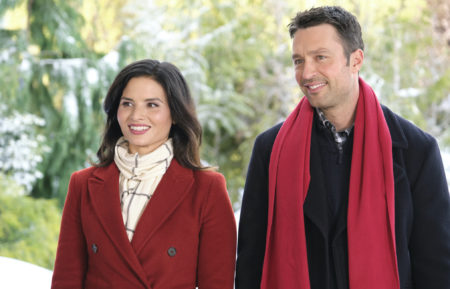 Christmas With the Darlings Hallmark Channel Katrina Law Carlo Marks