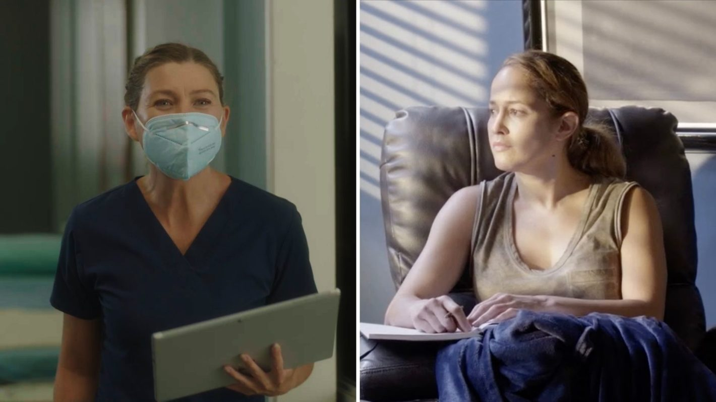 Meredith Grey's Anatomy Season 17 Premiere Andy Station 19