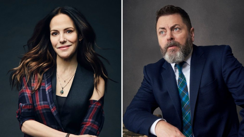Mary-Louise Parker Nick Offerman