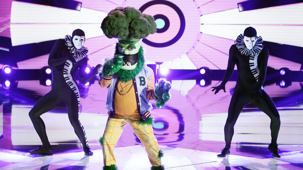 The Masked Singer Season 4 Group C Finals Performance Broccoli