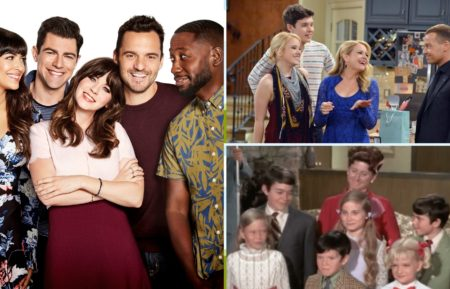 new girl, fox, melissa and joey, freeform, the brady bunch, abc