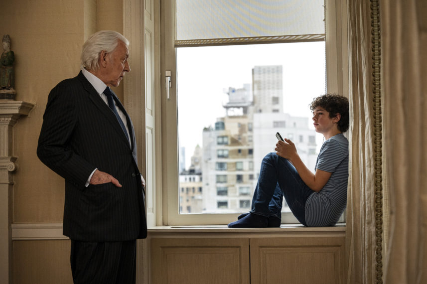 Donald Sutherland and Noah Jupe in The Undoing Episode 6