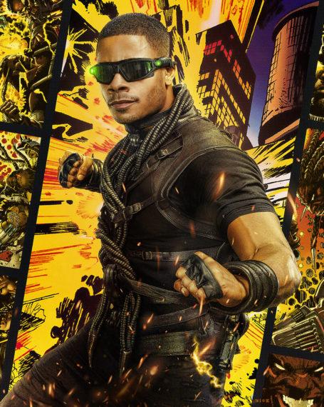 Jordan Calloway Black Lightning Painkiller Poster