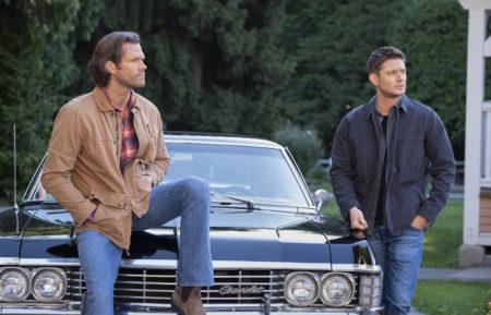 Jared Padalecki Jensen Ackles Baby Supernatural Series Finale Sam Dean