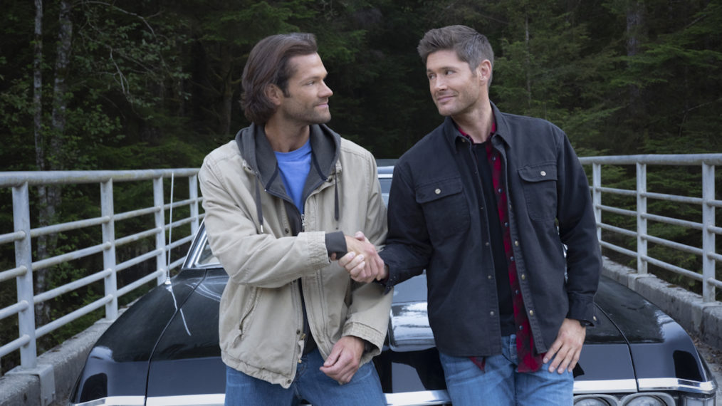Jared Padalecki Jensen Ackles Supernatural Series Finale Behind the Scenes