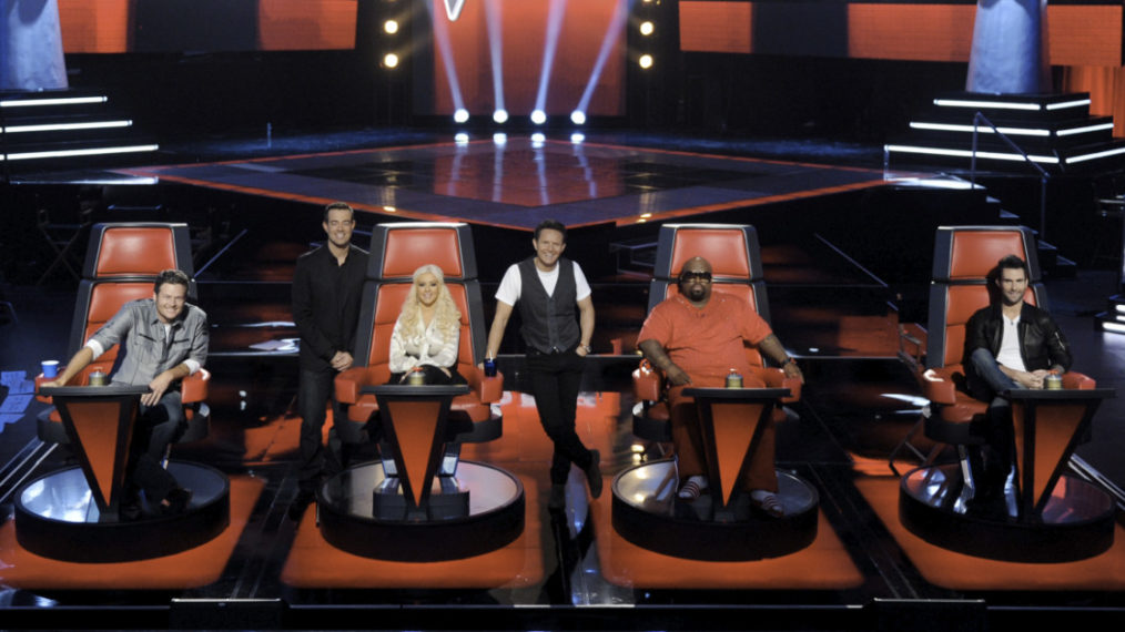 Which 'Voice' Coaches Have Sat in the Red Chairs the Longest?