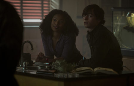 Jaz Sinclair and Ross Lynch in Chilling Adventures of Sabrina Chapter 31