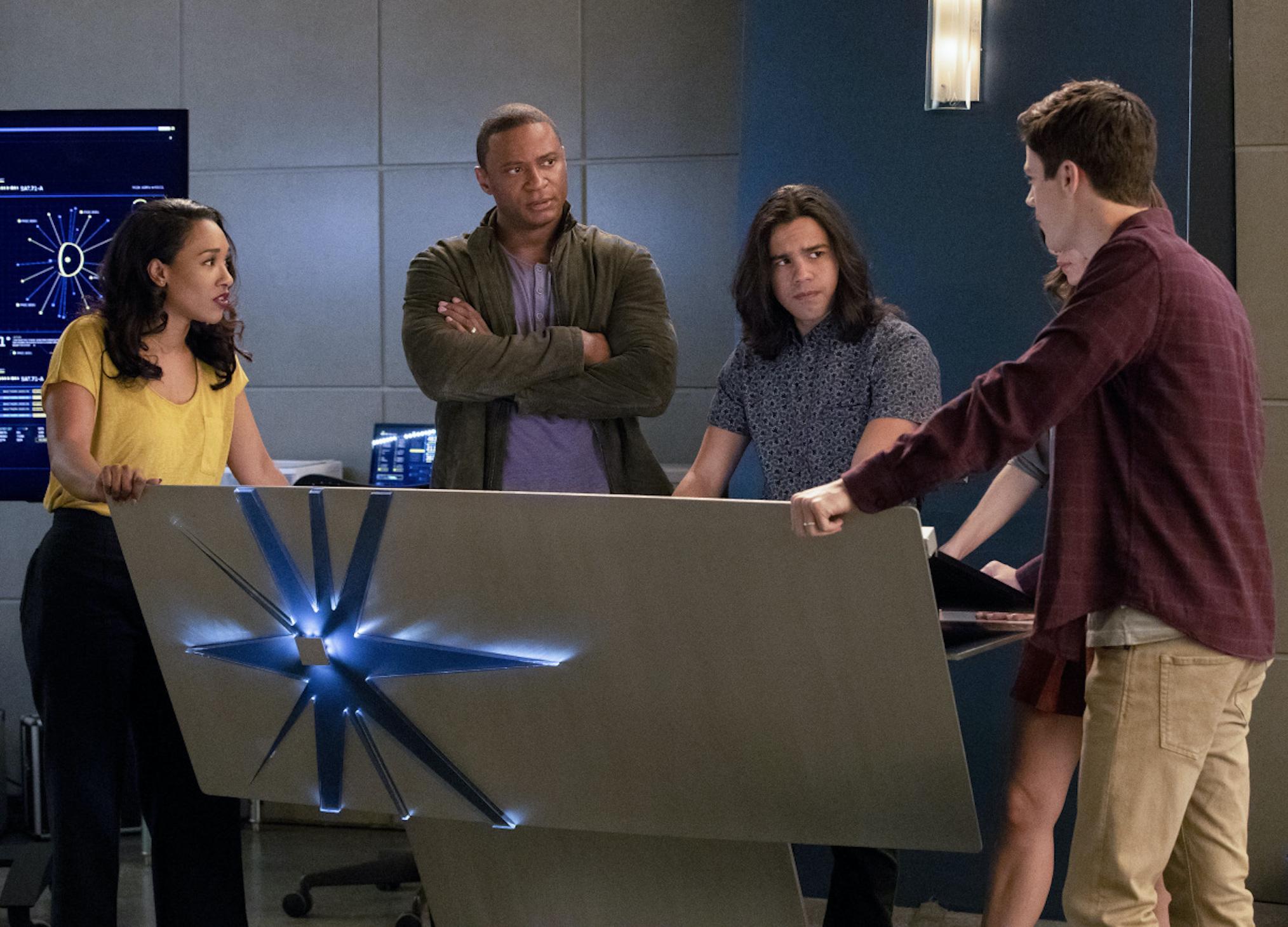 David Ramsey The Flash Season 4 John Diggle