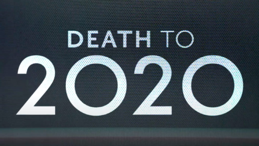 Death to 2020 Logo Netflix