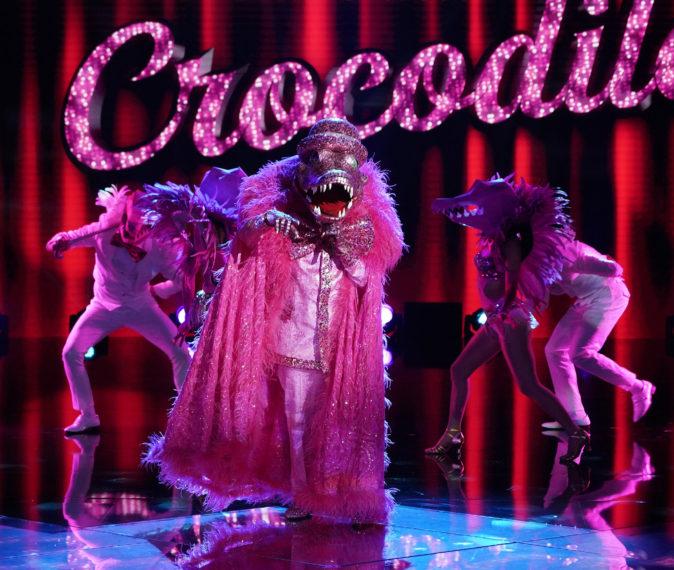 Crocodile Masked Singer Season 4 Finale Performance