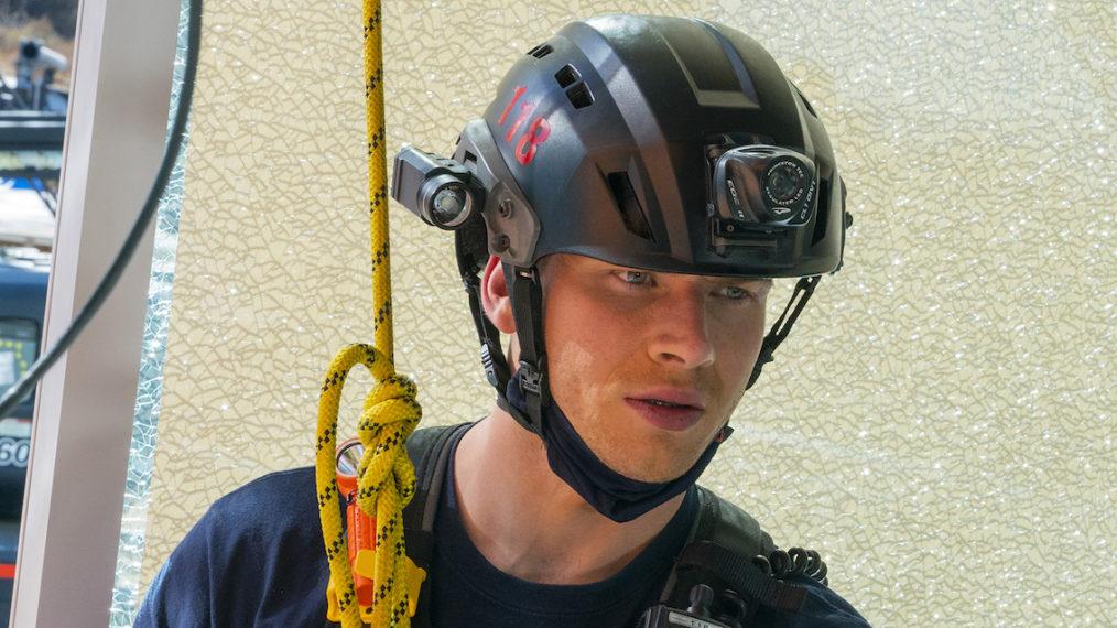 Oliver Stark Buck 911 Season 4 Premiere